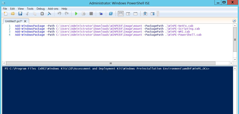 Criando disco de Boot WinPE com PowerShell – Wit-IT Tech